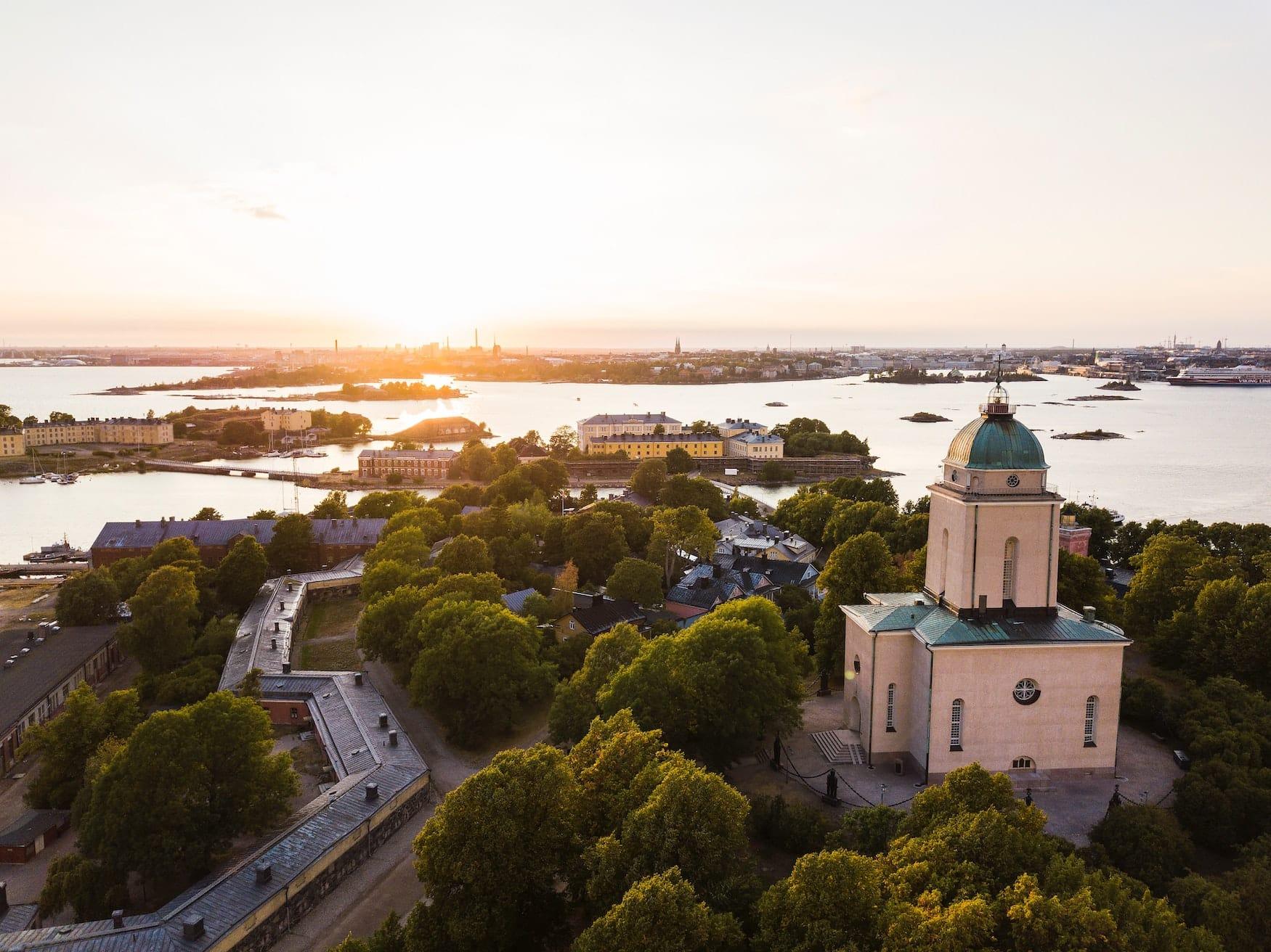 Die Festung vor Helsinki ist ein idealer Ausflugsort