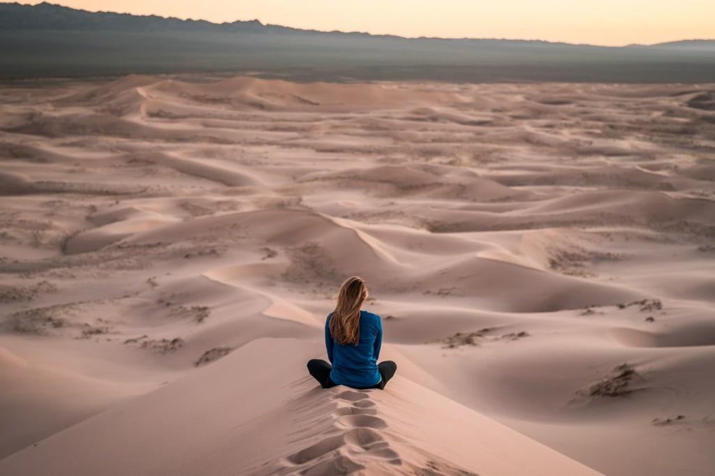 Die Wüste Gobi ist zweifelsohne eine der spektakulärsten Wüsten der Erde.