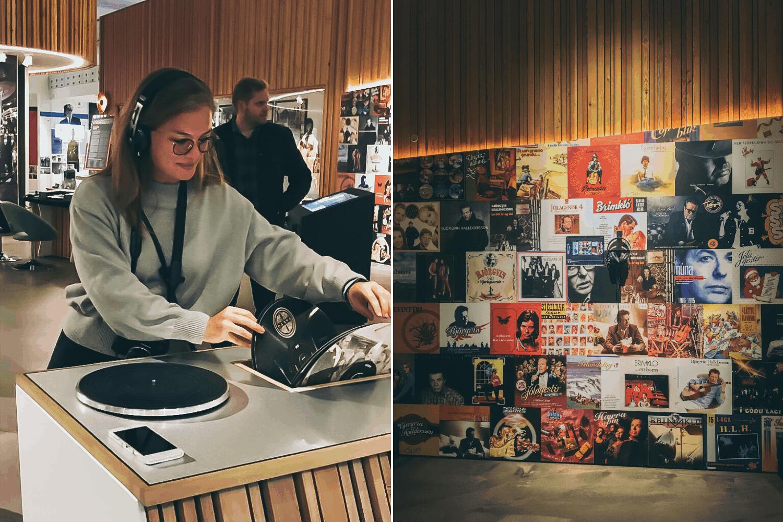 Redakteurin Linda am DJ-Pult
