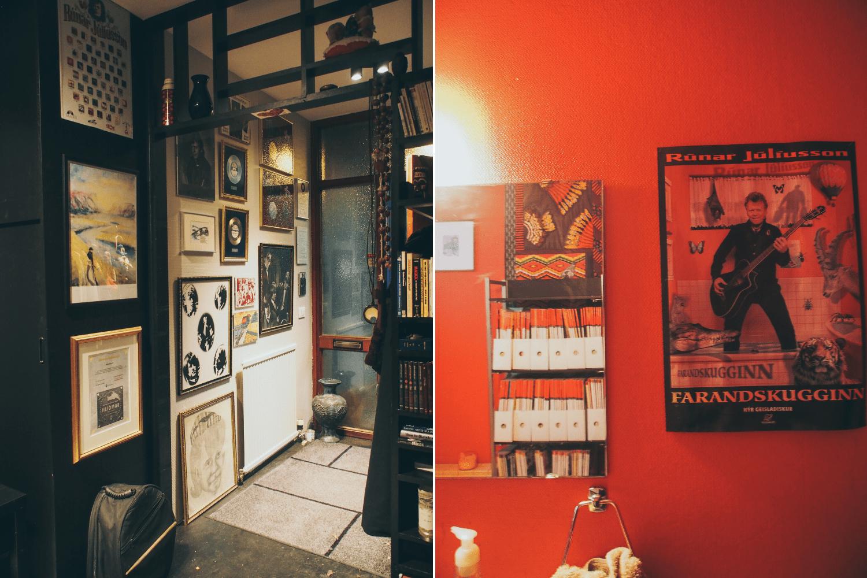 Vintage: Die Innneneinrichtung der Gmeinsteinn Studios scheint in den 70er-Jahren hängengeblieben zu sein