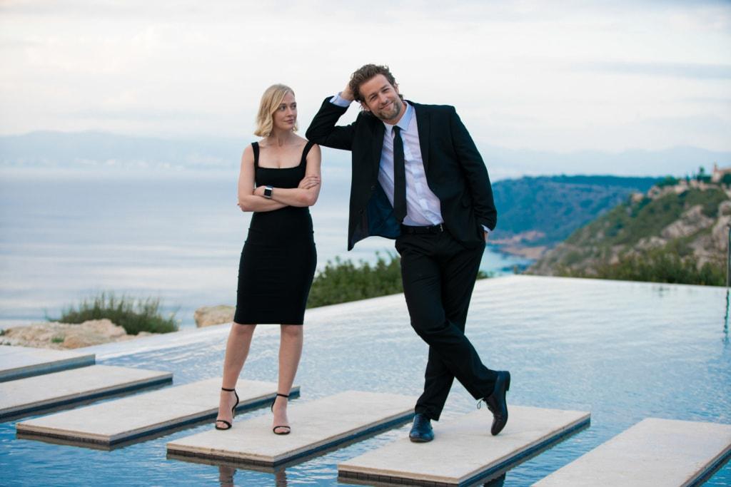 Bei der neuen Serie auf ZDF neo, The Mallorca Files, ermittelt dieses ungleiche Duo.