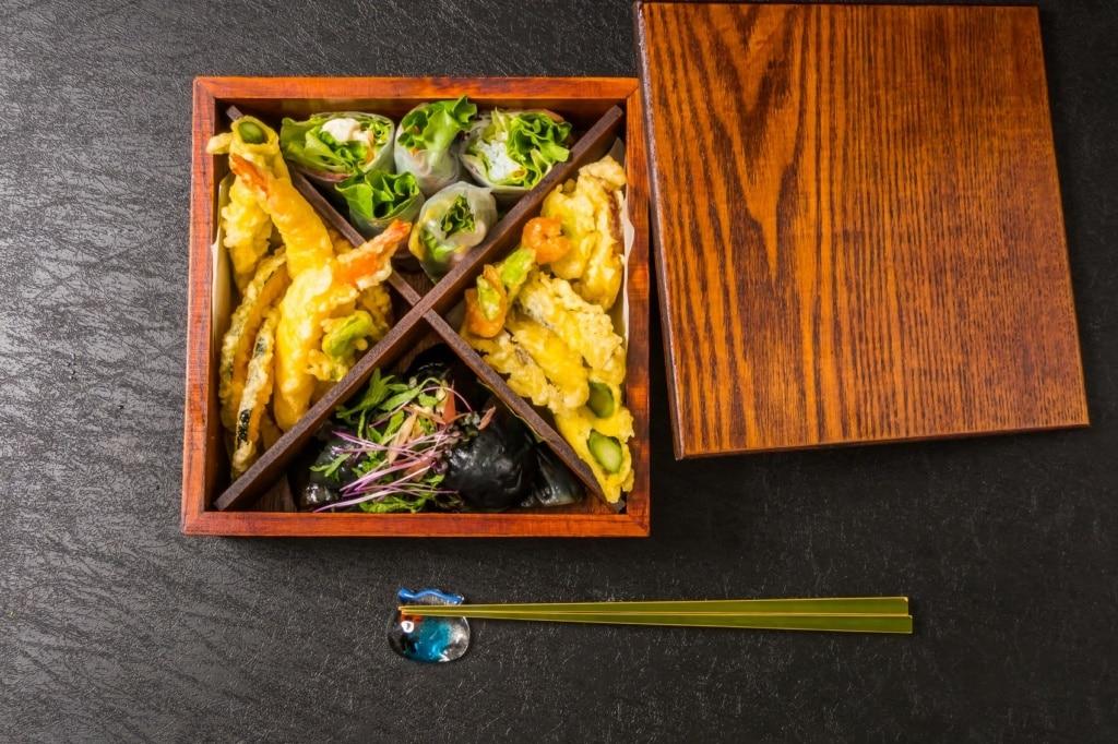 Die Bento-Box ist die wohl schönte Brotdose der Welt.