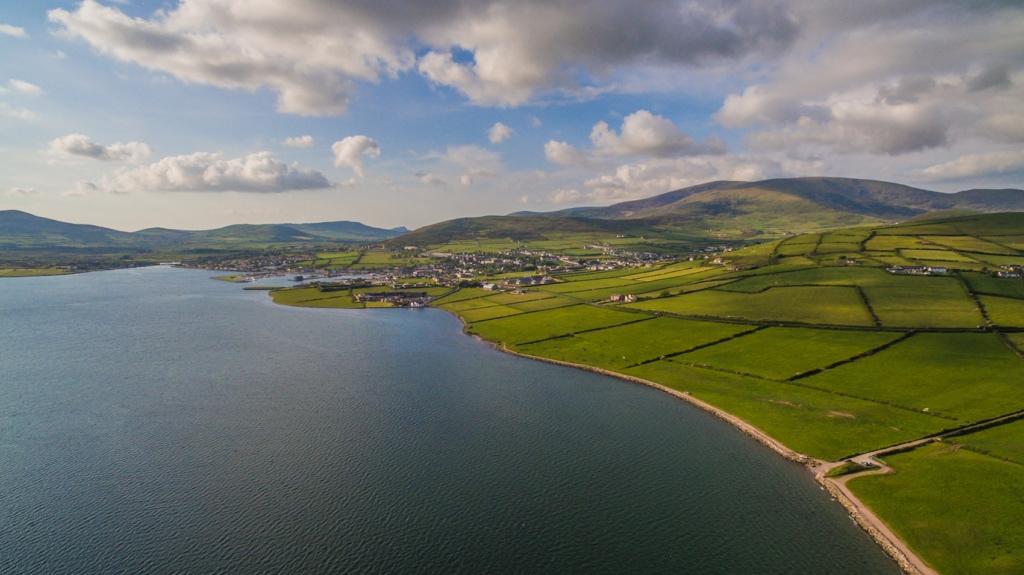 Die Bucht von Dingle ist Heimat des berühmtesten Delfin Irlands: Fungie.