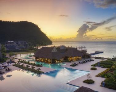Im Kempinski Hotel Dominica lässt es sich aushalten.