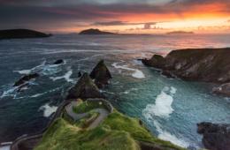 Dan Chaoin auf der Dingle-Halbinsel ist Bilderbuch-Irland.