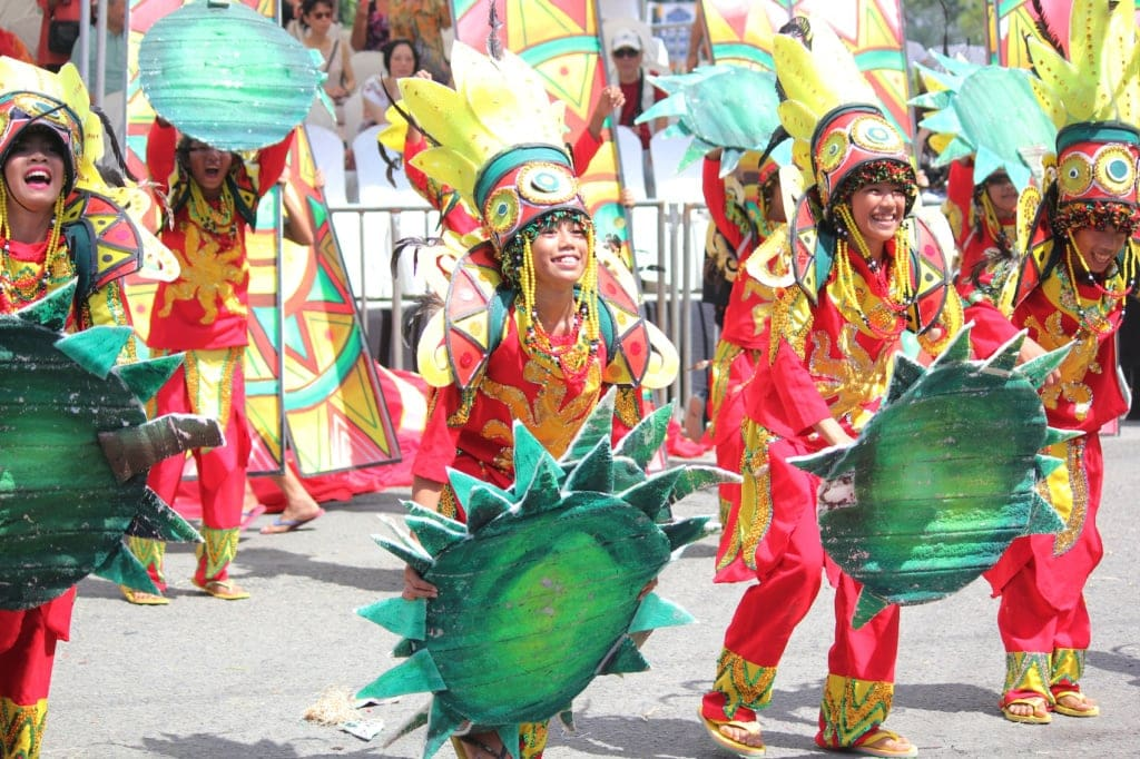 Das Kadayan Festival in Davao ist eines von unzähligen Festivals auf den Philippinen.