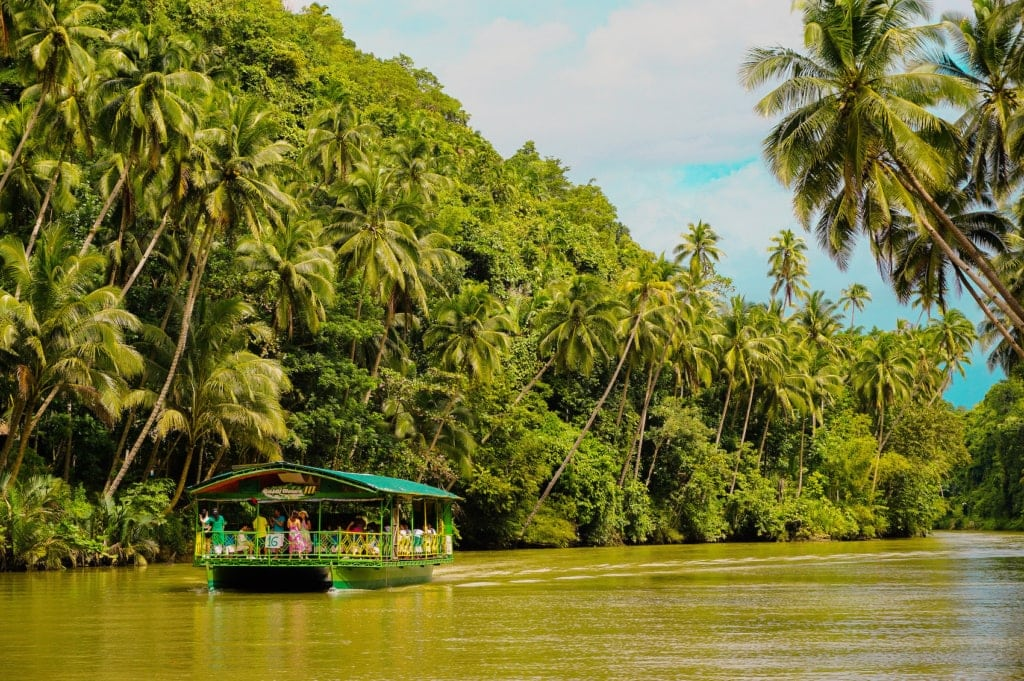 Das Inland von Mindanao auf den Philippinen ist noch wild und ursprünglich.