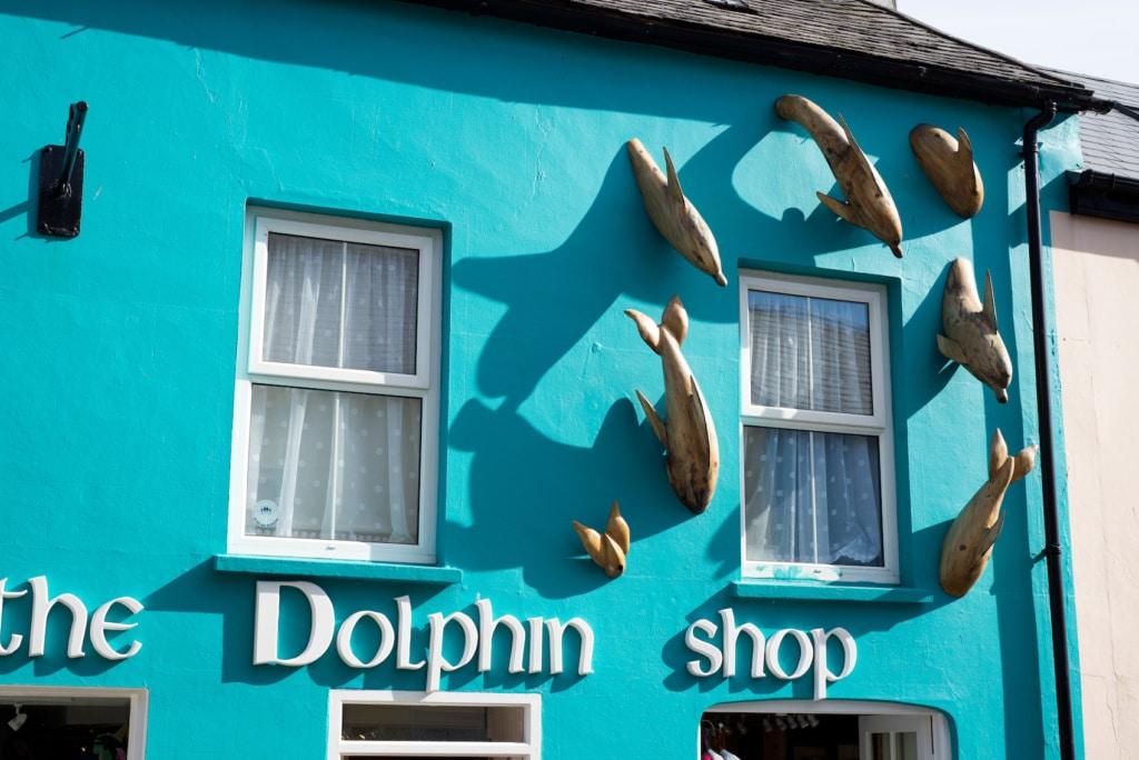 In Dingle ist man stolz auf seinen Delfin.