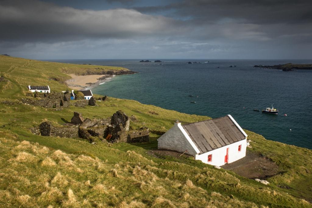 Die Blasket Inseln sind eine der abgeschiedensten Orte Irlands.