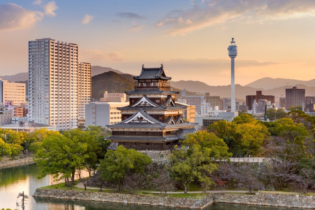 Hiroshima ist heute wieder eine Millionenmetropole.