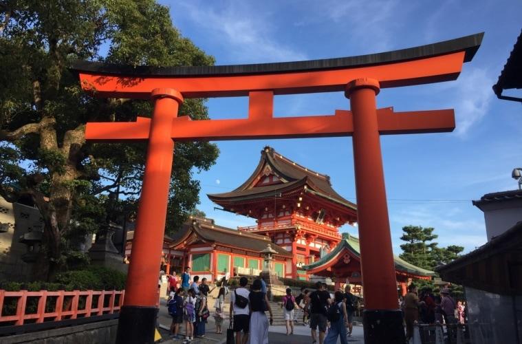 Tempel in Kyoto.