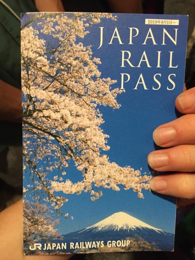 Der Zugpass ist ein wichtiges Utensil auf der Traumreise durch Japan.