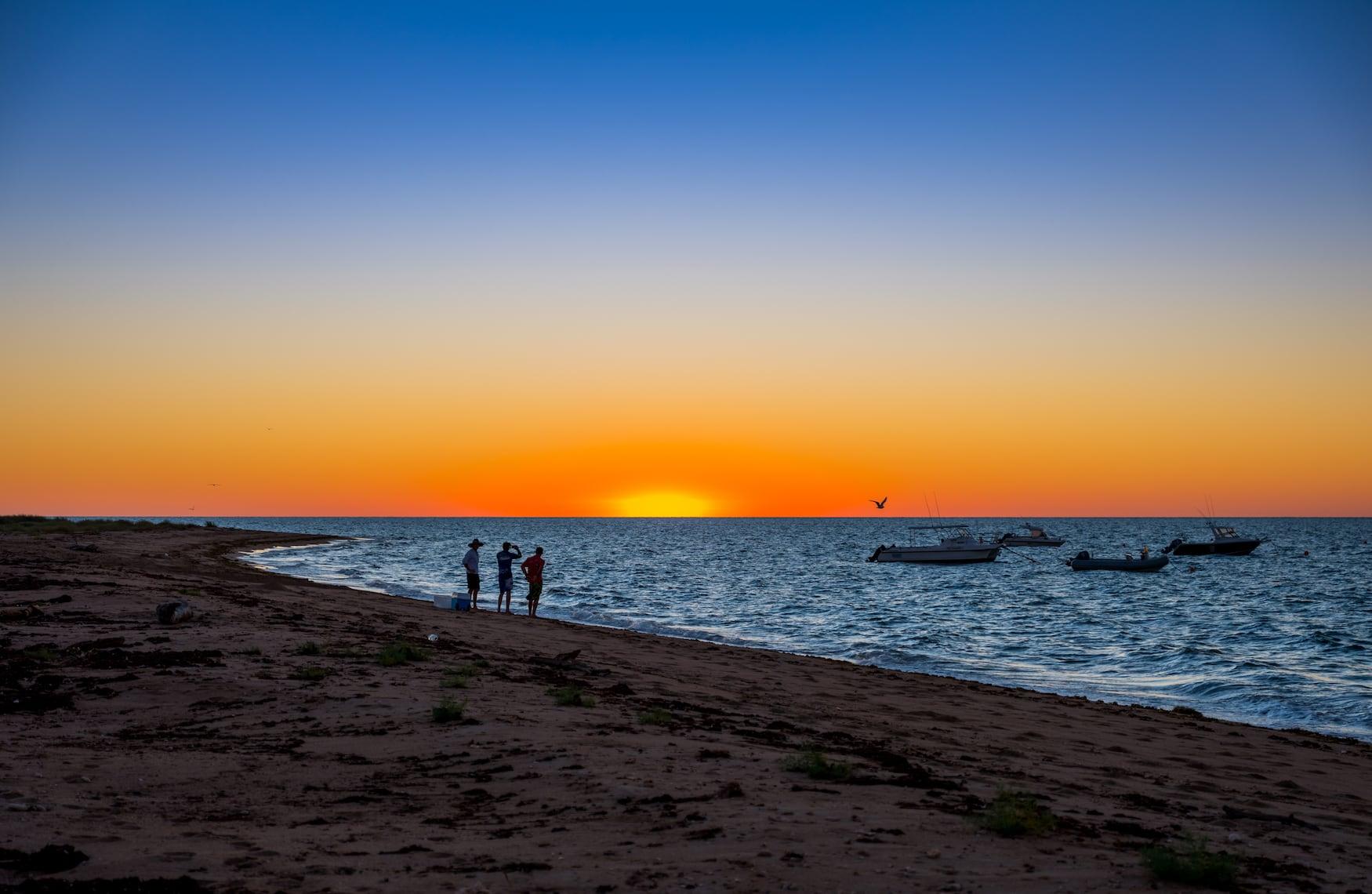 Sonnenuntergang auf den Mackerel Islands