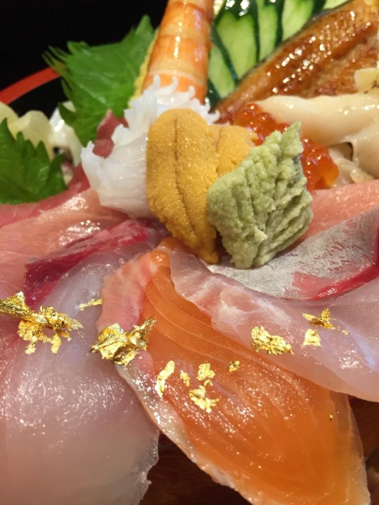 Sashimi vom Feinsten.