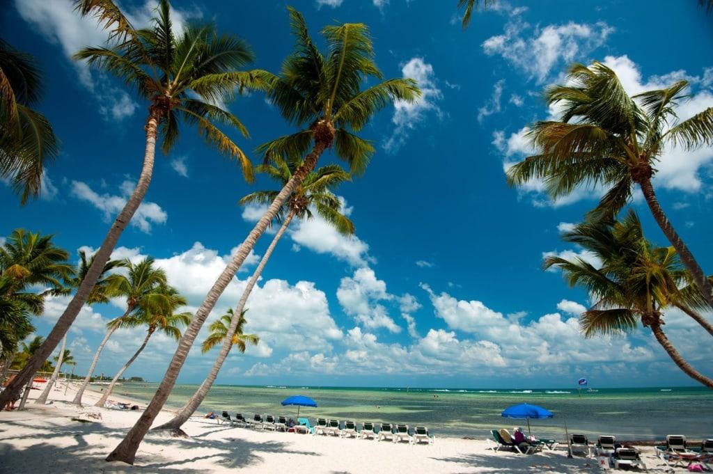 Florida Keys: Smathers Beach auf Key West