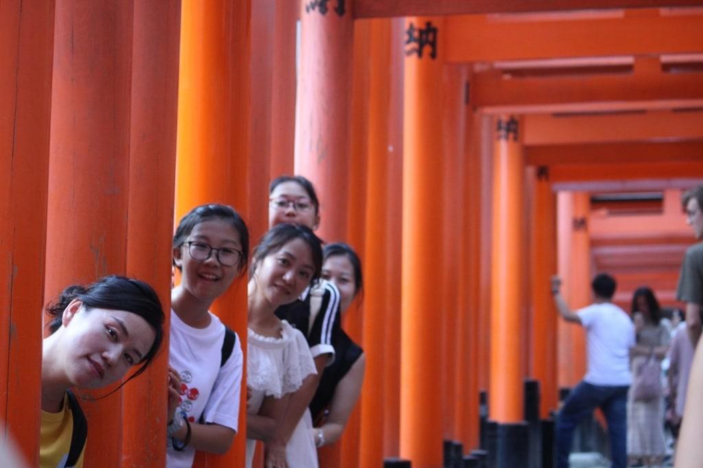 Viele Tempel lassen sich auf einer Traumreise nach Japan erkunden.