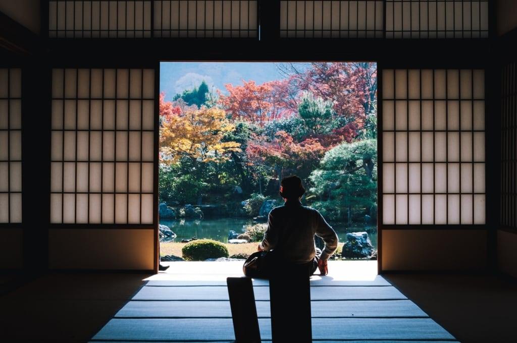 Viele Tempel warten in Kyoto.