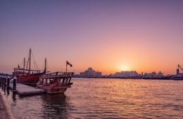Skyline von Sharjah