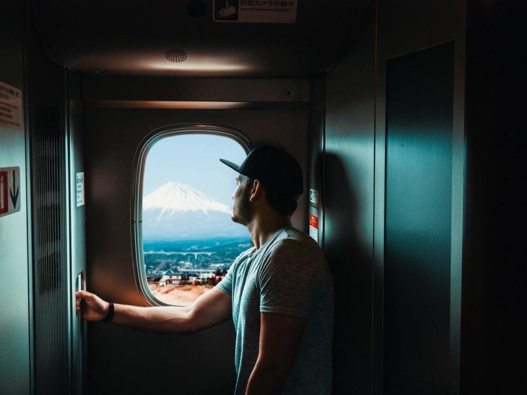 Unsere Autorin war auf ihrer Traumreise durch Japan mit dem Zug unterwegs.