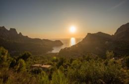 Die Sonnenuntergänge auf Mallorca sind einfach magisch.