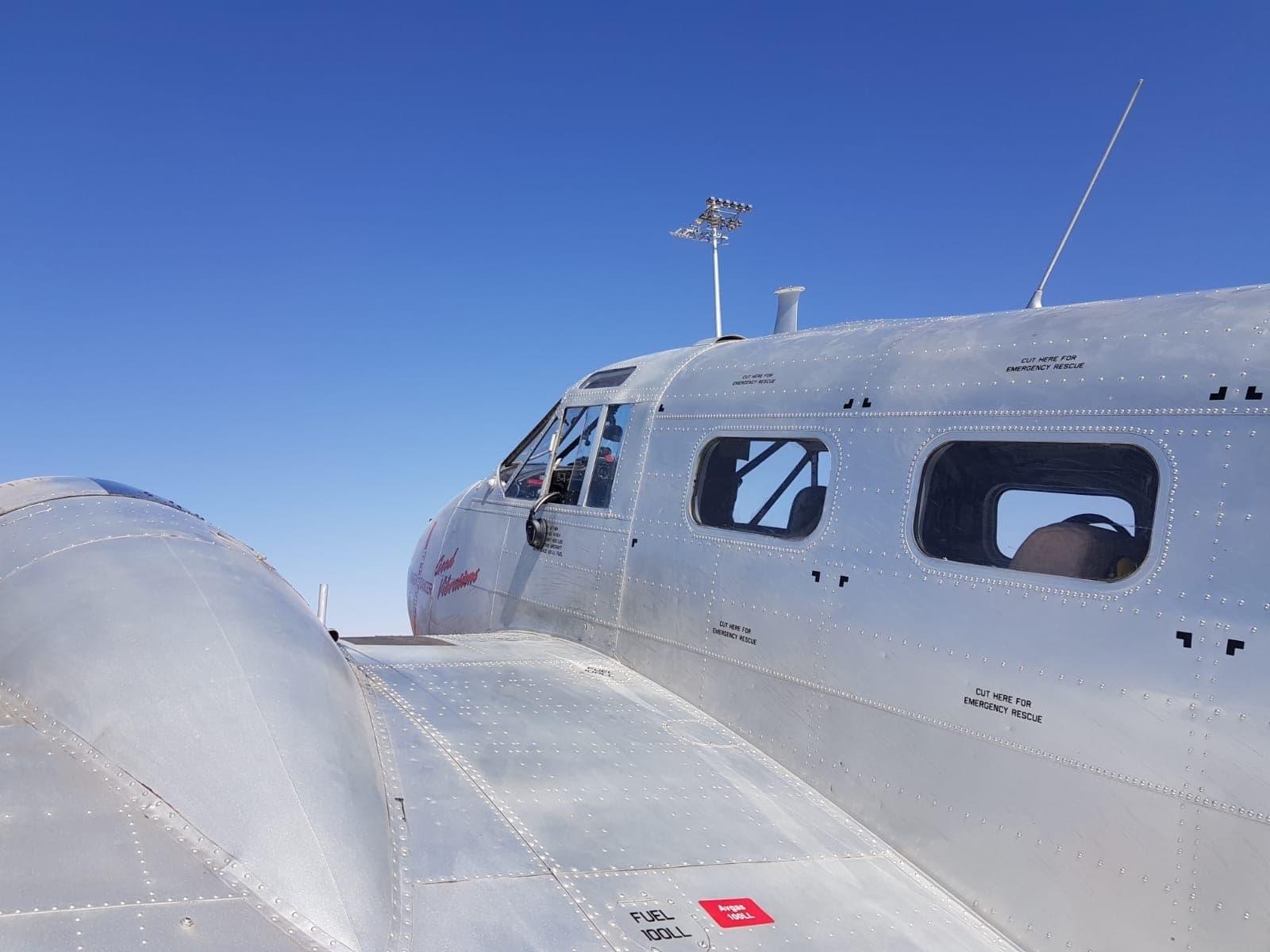 Mit dem Vintage-Flugzeug nach Al-Ula