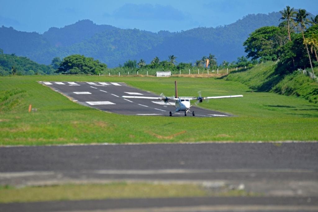 Airport Taveuni auf Fidschi