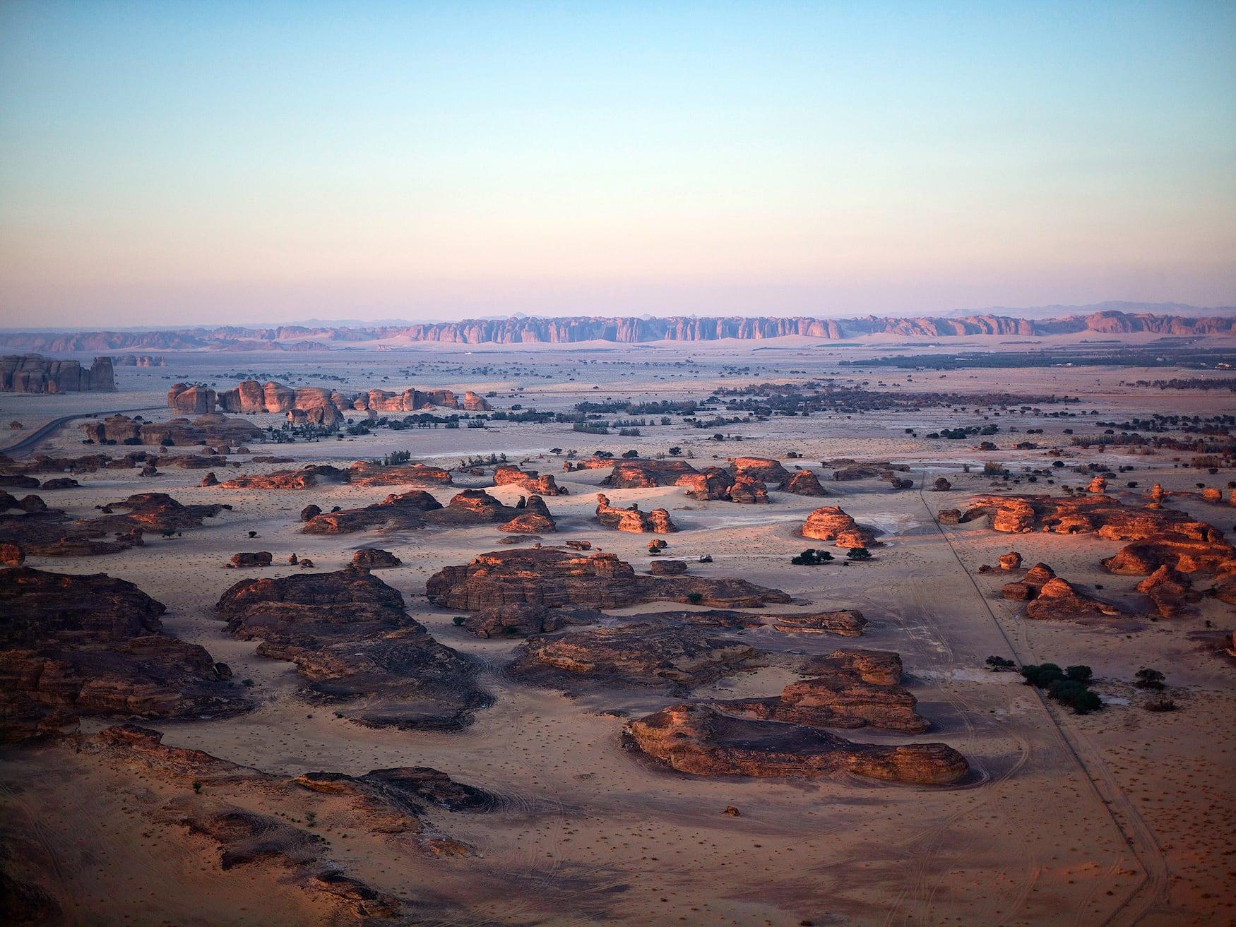 Panorama Wüste Saudi Arabien