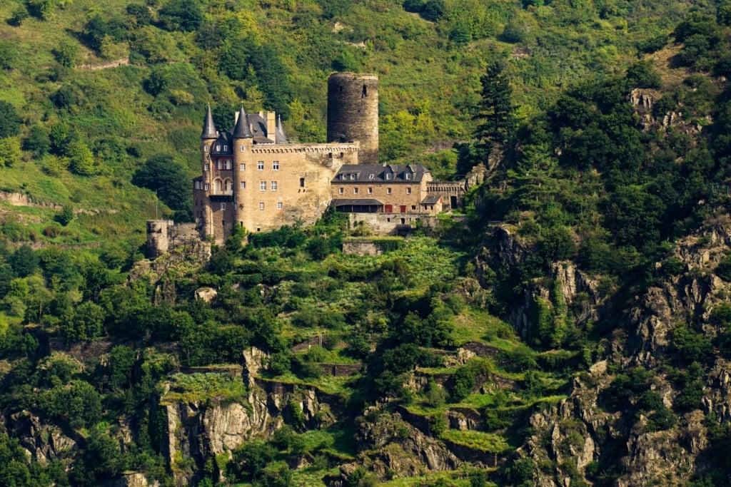 Burg Katz im Mittelrheintal