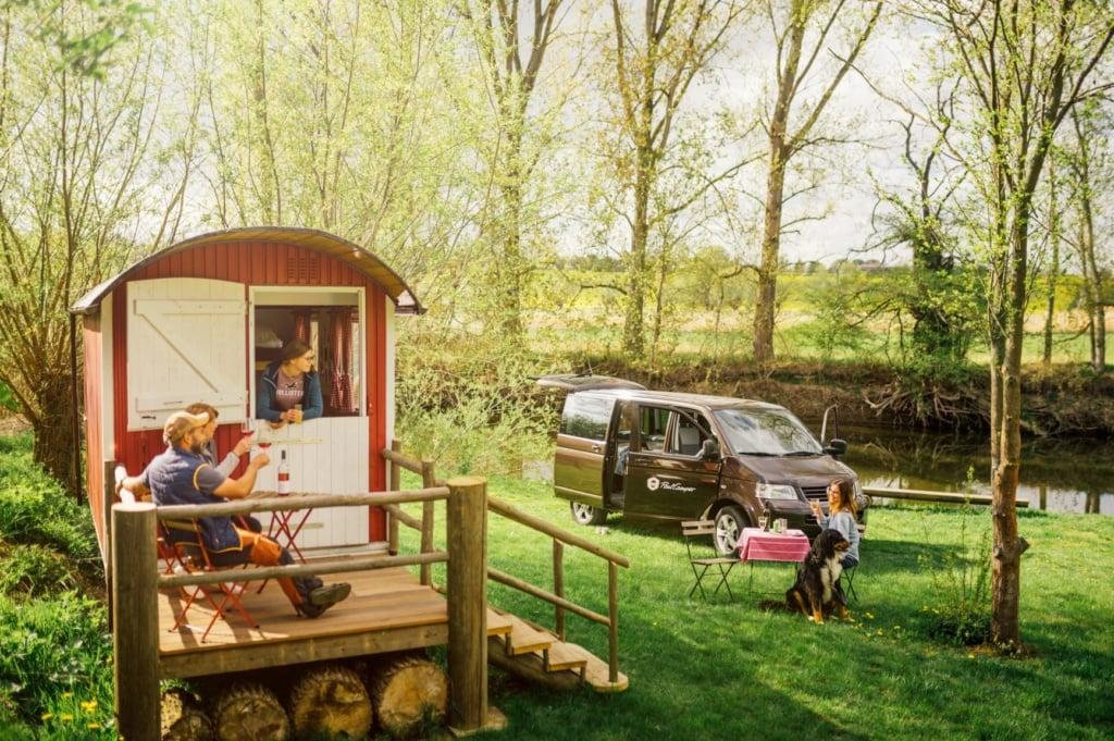 Campingurlaub in Deutschland: Trip in die Natur