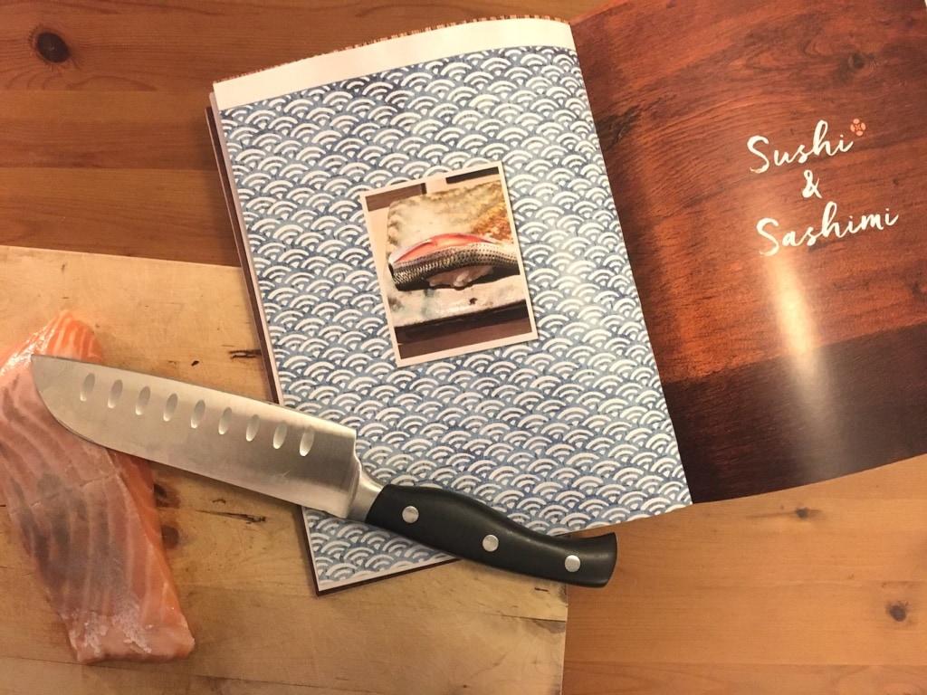 Natürlich darf in diesem Kochbuch auch das Sushi nicht fehlen.