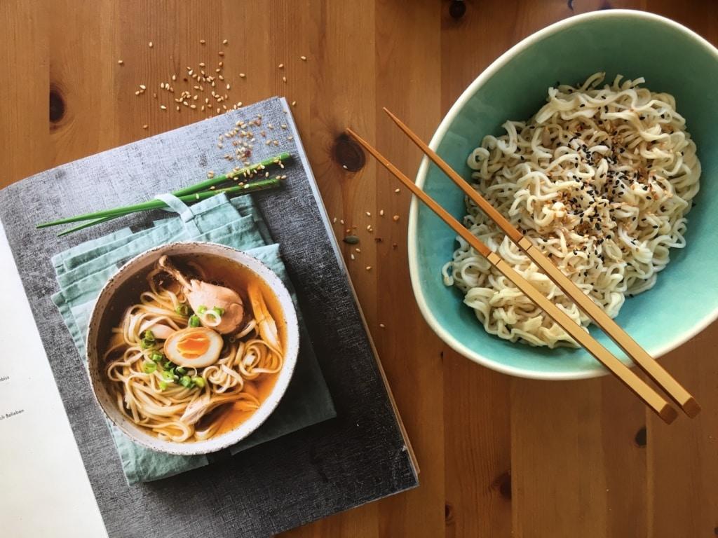 Ramen ist eine von vielen japanischen Spezialitäten, die »Meine Japanische Küche« vorstellt.