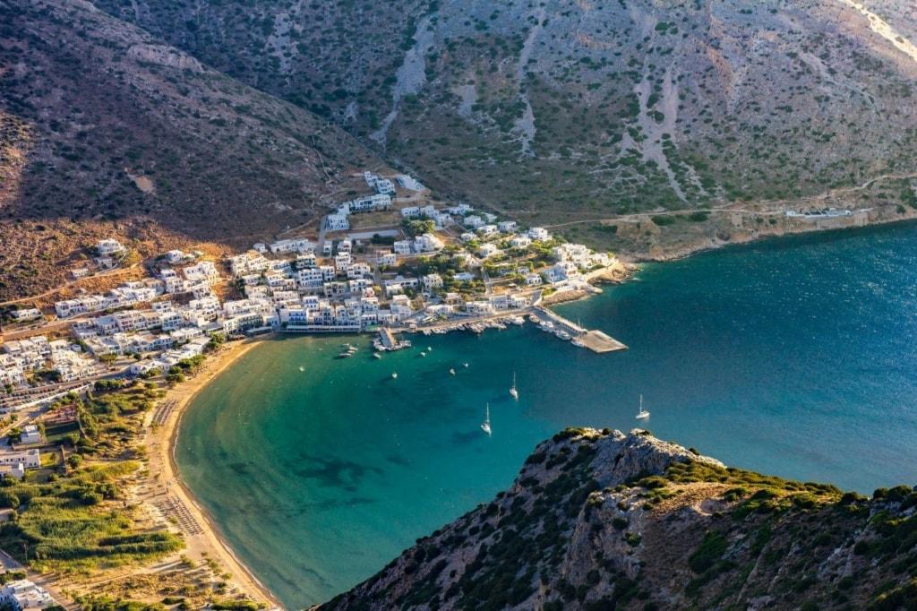 Bucht von Kamares auf Sifnos