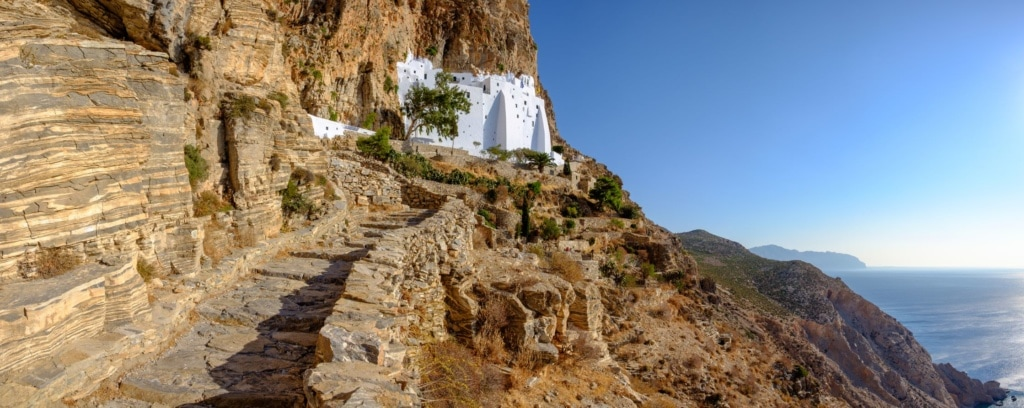 Kloster Panagia Hozoviotissa auf der Insel Amorgos