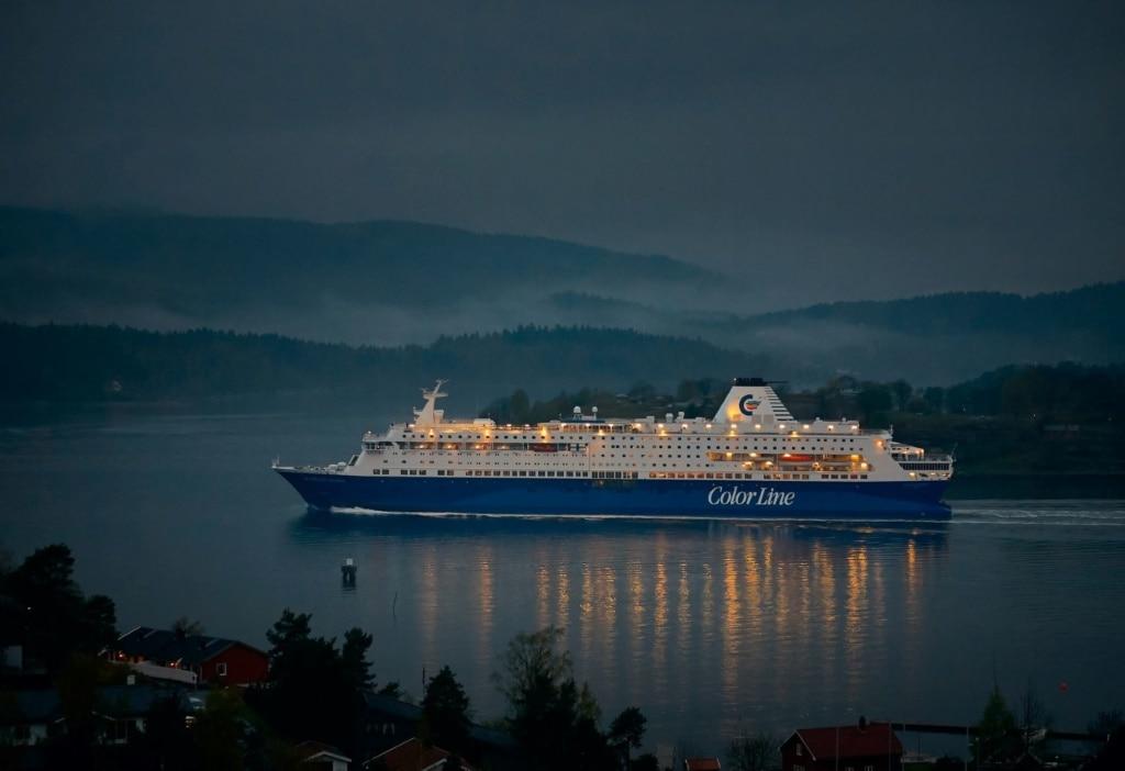 Kreuzfahrtschiff Color Line in Nordeuropa