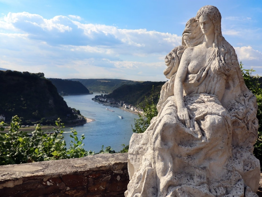 Loreley-Statue