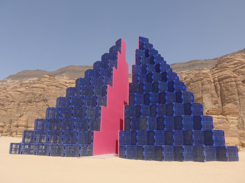 Pyramide Festival Saudi Arabien