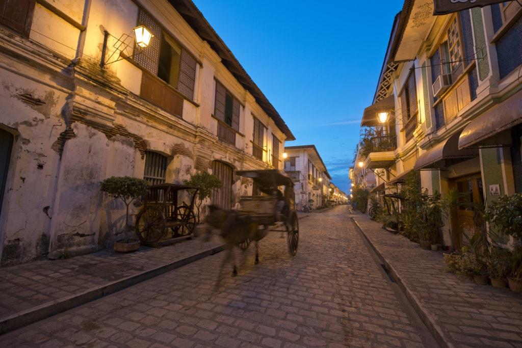 Die Unesco Welterbestätten auf den Philippinen: Auch die Stadt Vigan gehört dazu.