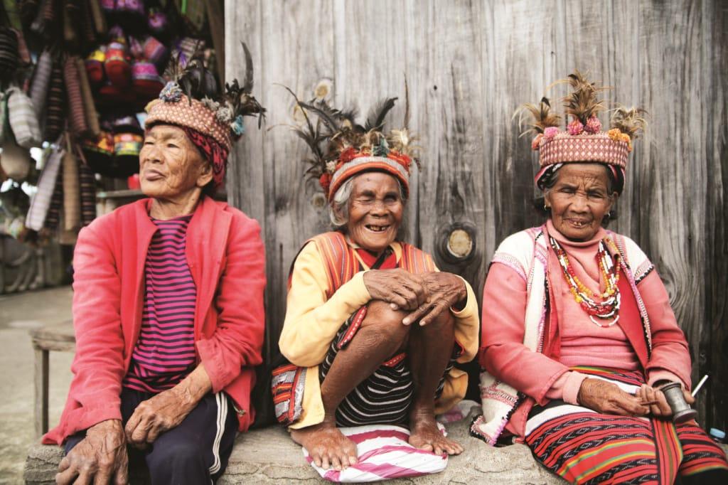 Seit Jahrhunderten leben die Ifuago in den Bergen rund um Banaue und sind für ihre Reisterrassen berühmt.