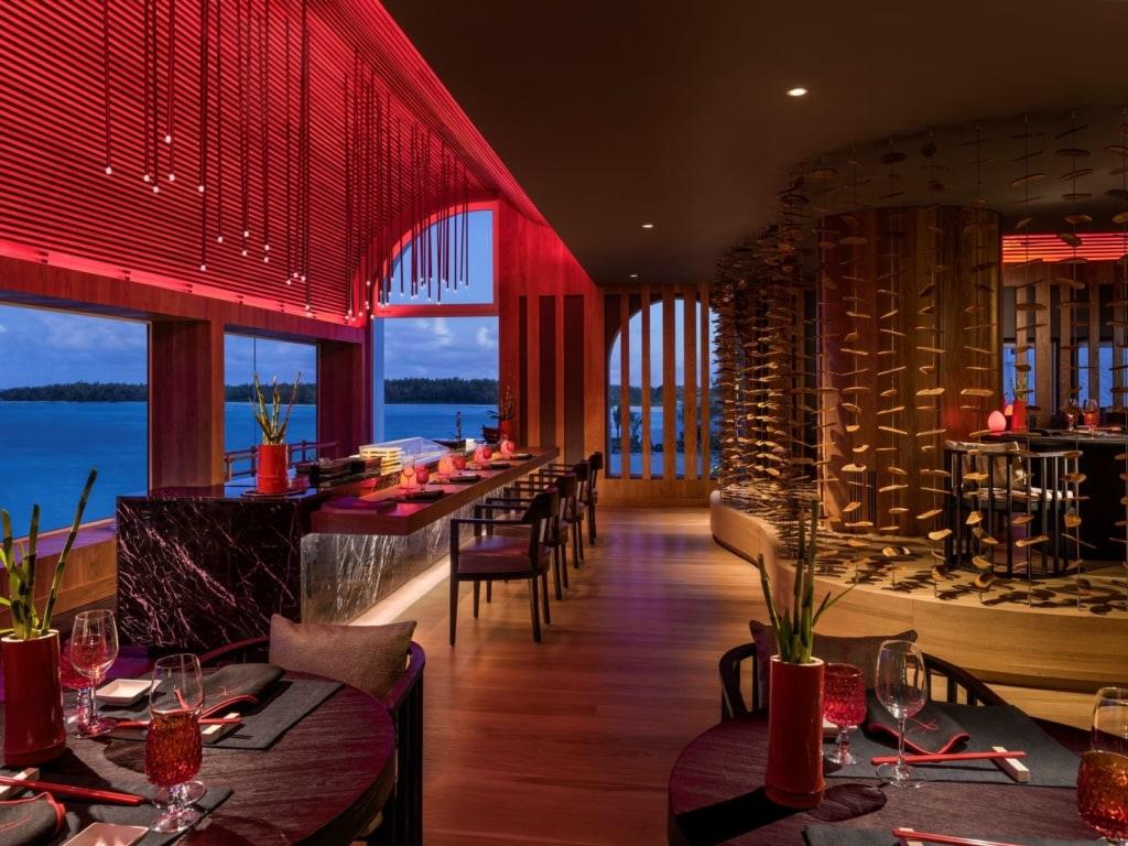 Restaurant Kushi Shangri-La's Le Touessrok