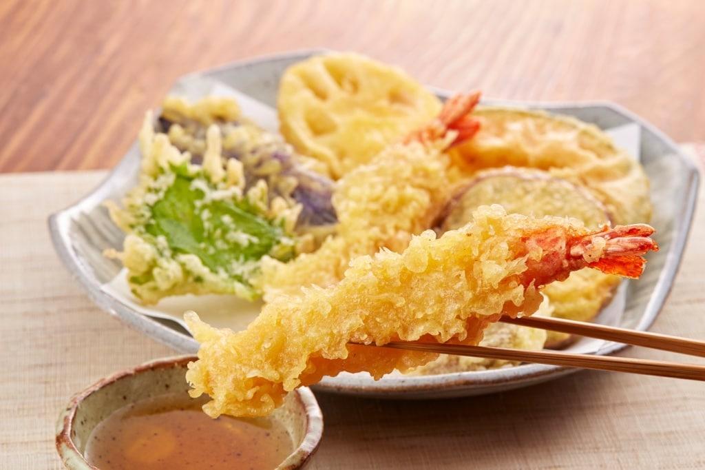 Tempura ist fester Bestandteil der japanischen Küche.