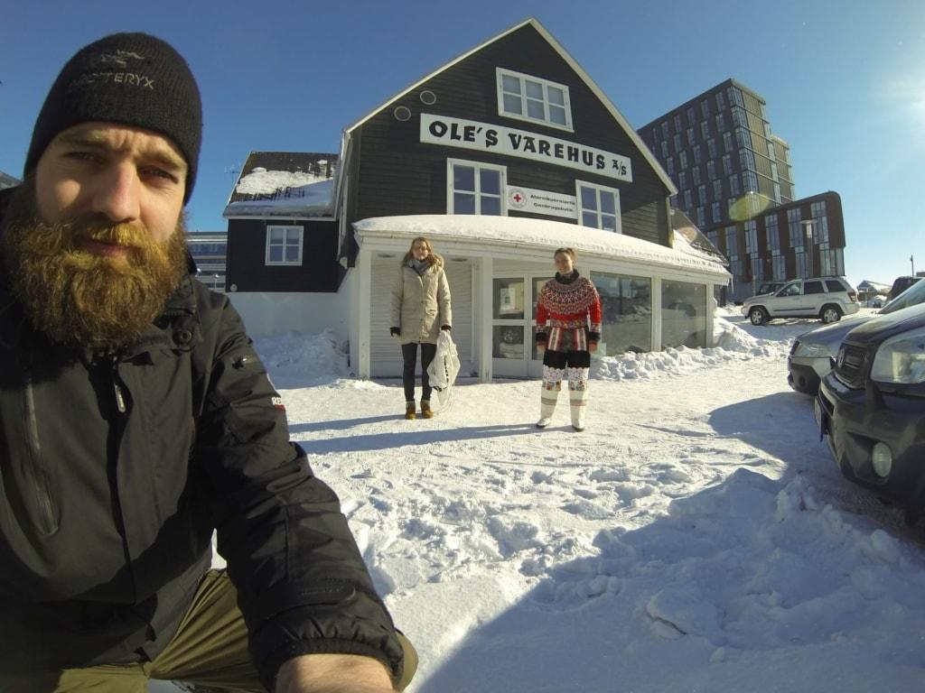 Thor Pedersen in Grönland