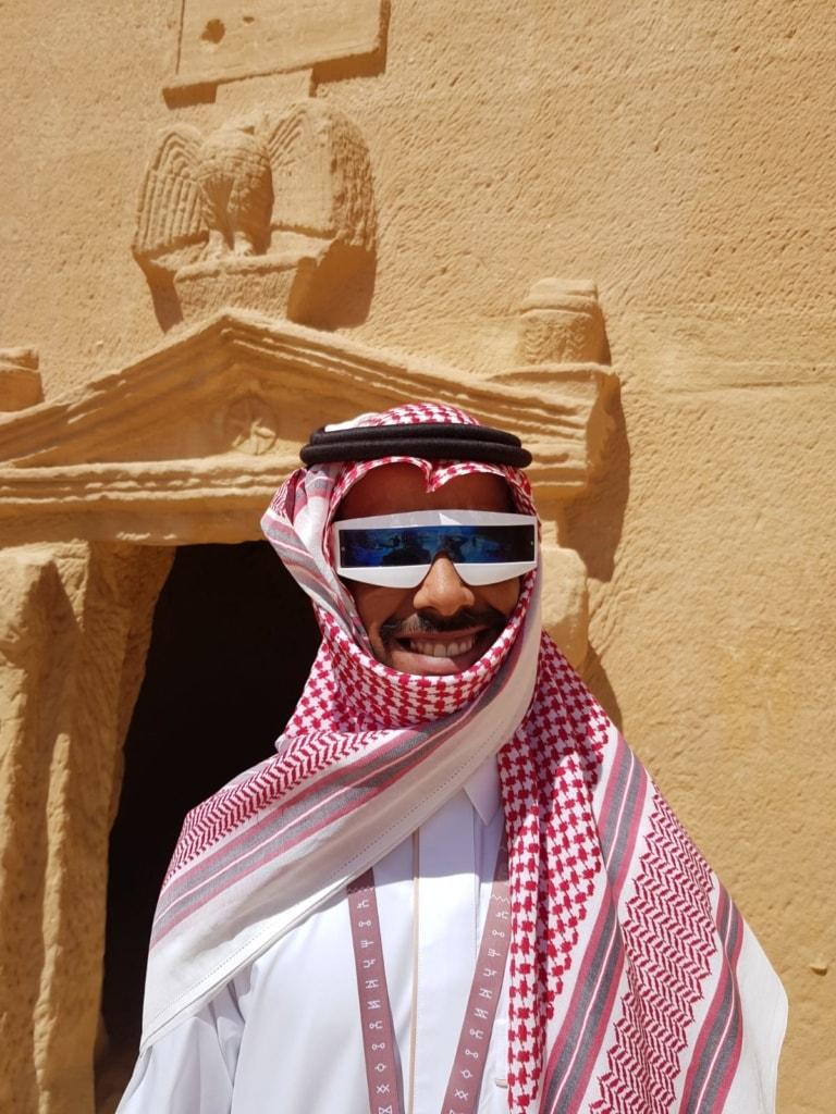 Touristen-Guide in Saudi-Arabien