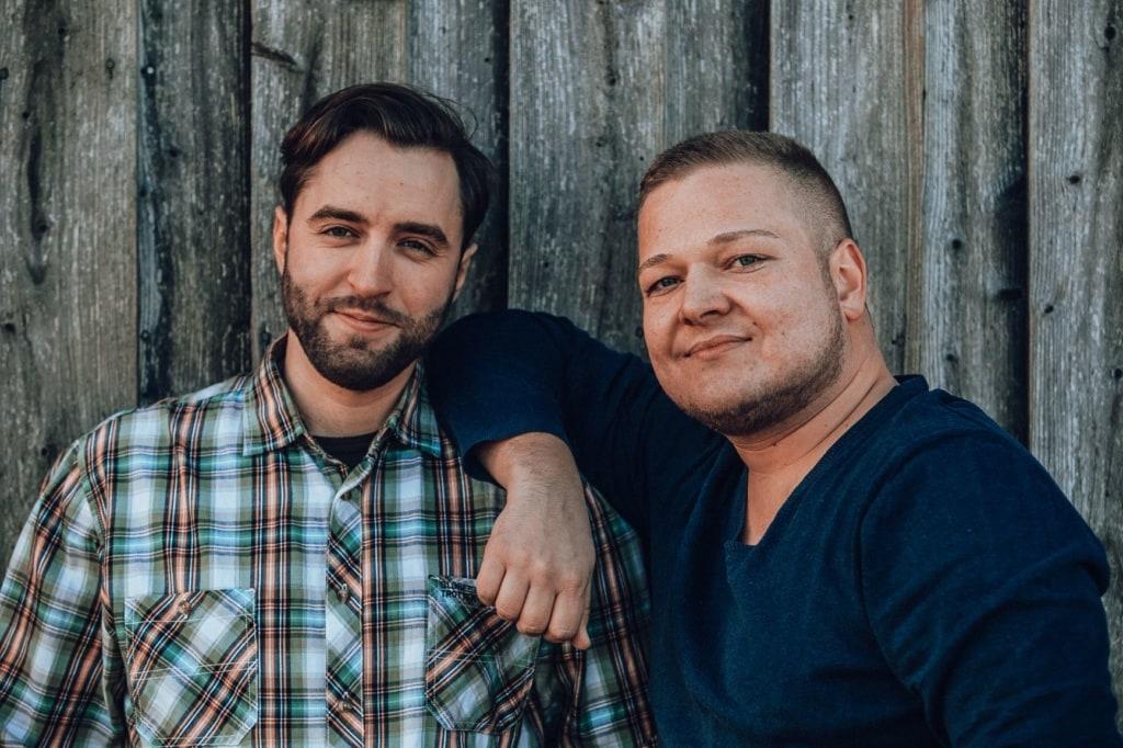 Viking-Republic-Gründer Finn und Max