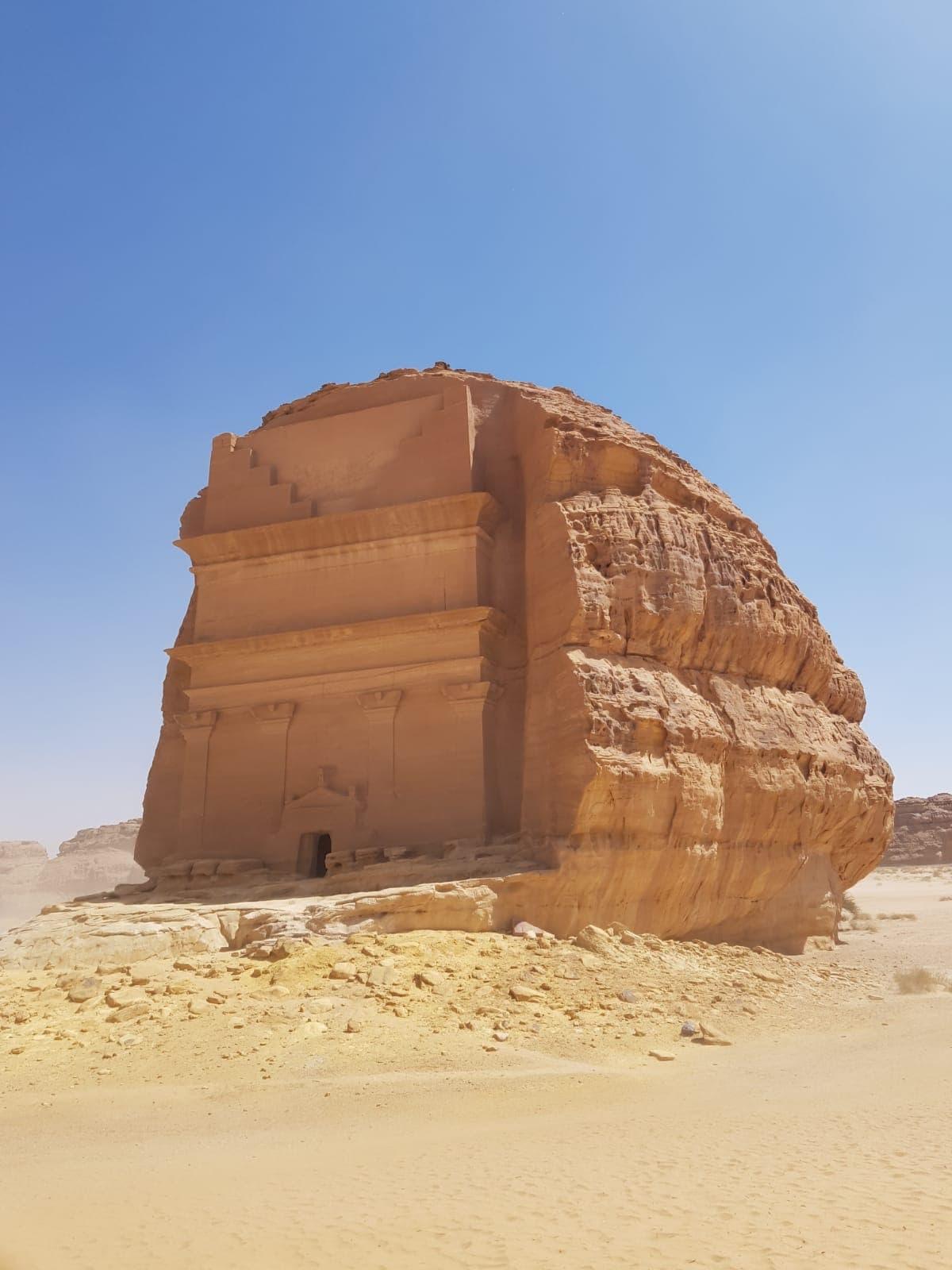 Ausgrabungsstätte Hegra in Saudi-Arabien