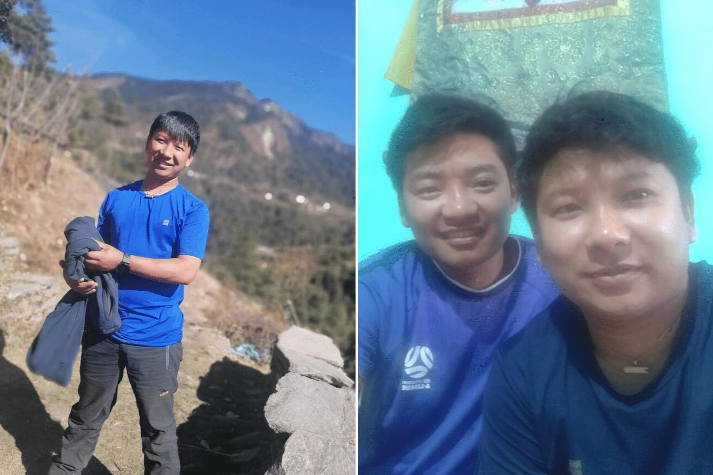 Träger Ngima Tenji Sherpa mit seinem Bruder