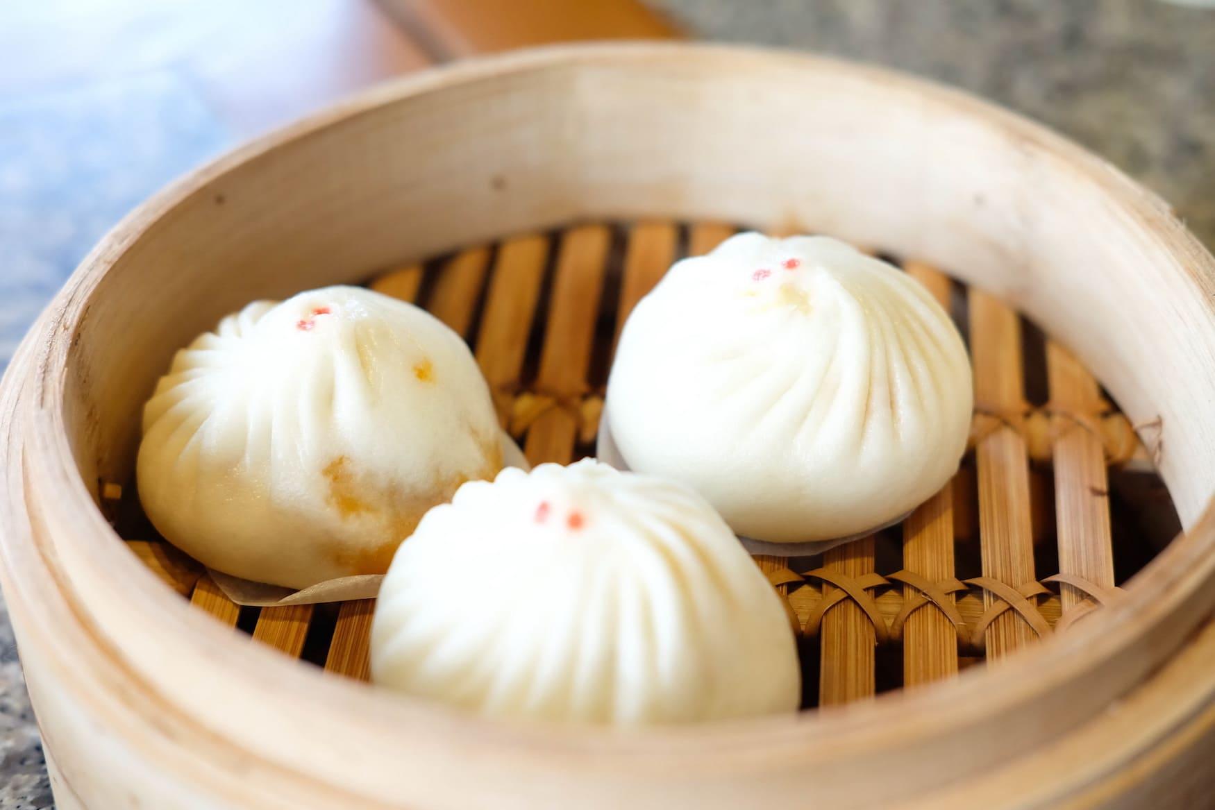 Banh Bao sollte man auf einem Streetfood Markt iN China unbedingt probieren