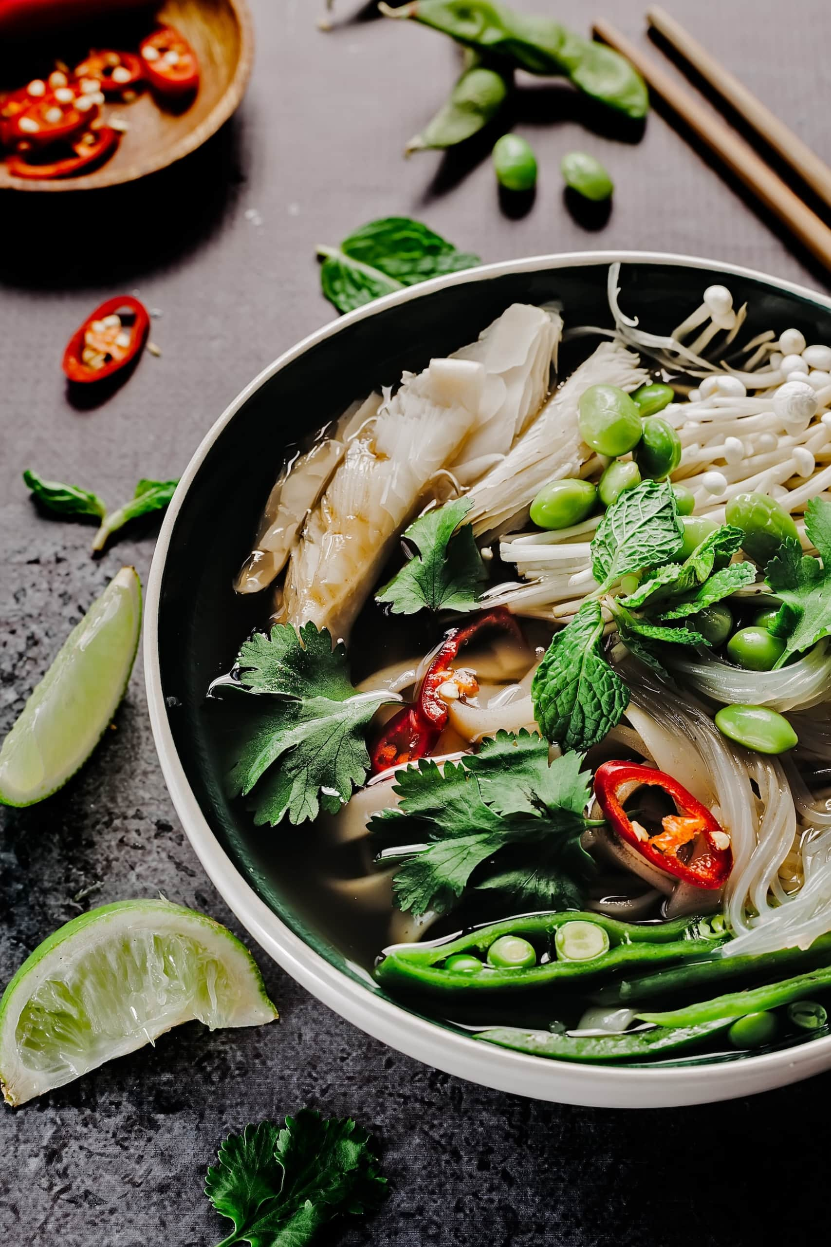 Pho zählt zu den beliebtesten Streetfood Spezialitäten der Welt