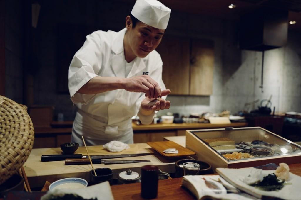 Besonders Männer sind in Japan traditionell Köche.