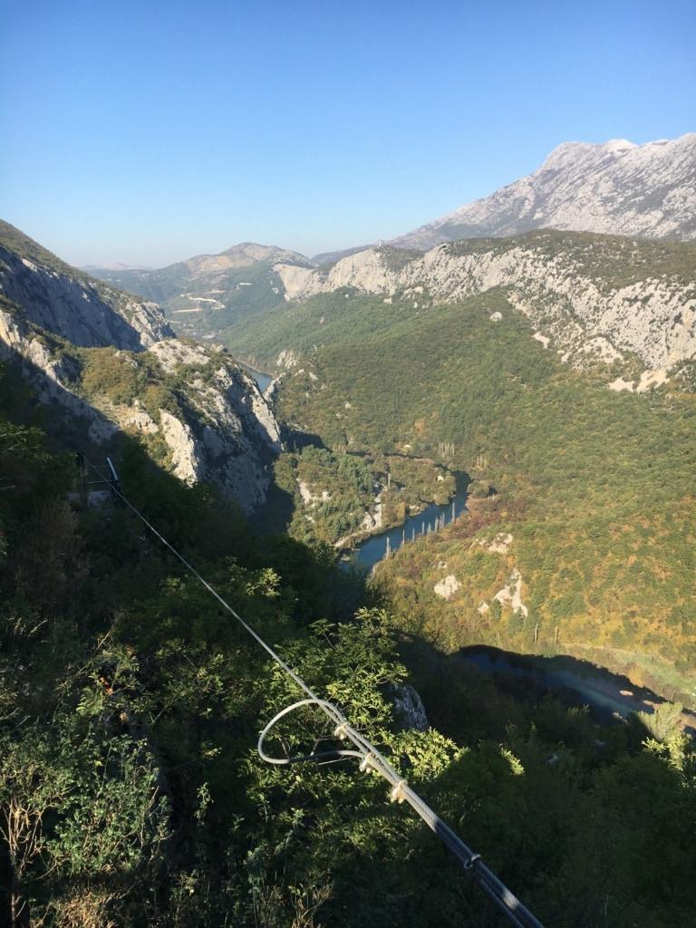 Fluss Cetina bei Omiš