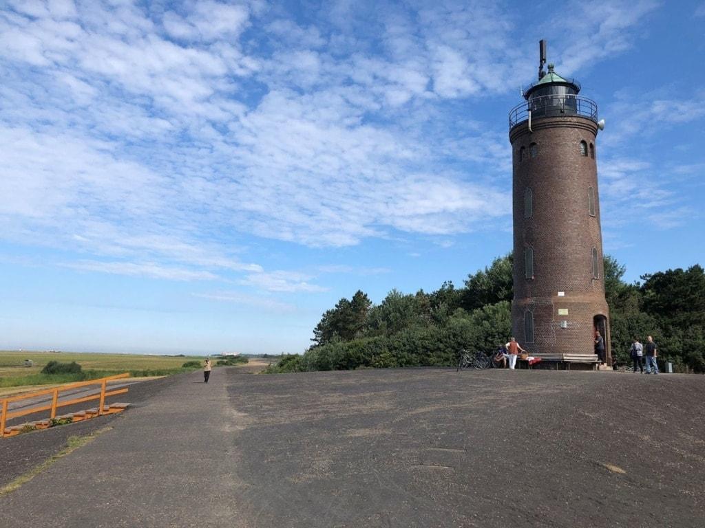 Böhler Leuchtturm am Naturlehrpfad in St. Peter-Ording